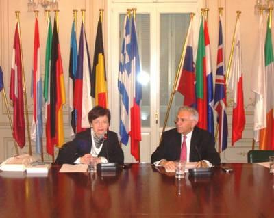 Θεματική: Ευρωπαϊκή Τουριστική Πολιτική, Καθηγητής Γιάννης Βαληνάκης, Πρόεδρος Ευρωπαϊκού Κέντρου Αριστείας Jean Monnet, Δρ. Παναγιώτα Διονυσοπούλου, Υπουργείο Παιδείας και Θρησκευμάτων (Συγγραφέας του βιβλίου «Ευρωπαϊκή Τουριστική Πολιτική»)